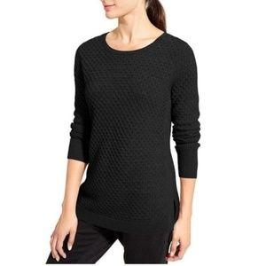 Athleta Honeycomb Thermal Wool Sweater